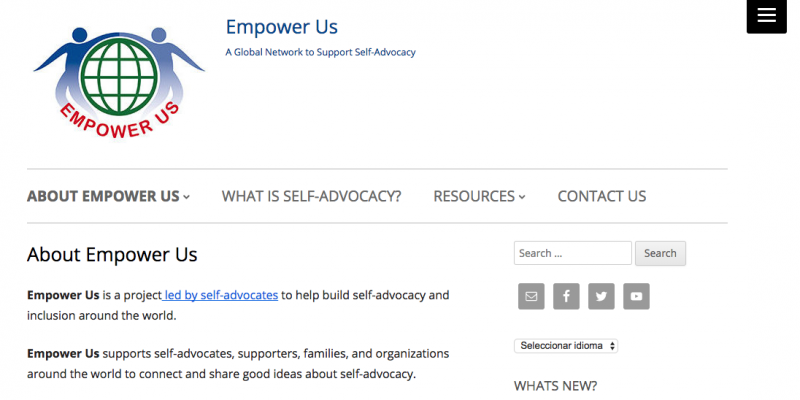web empower us