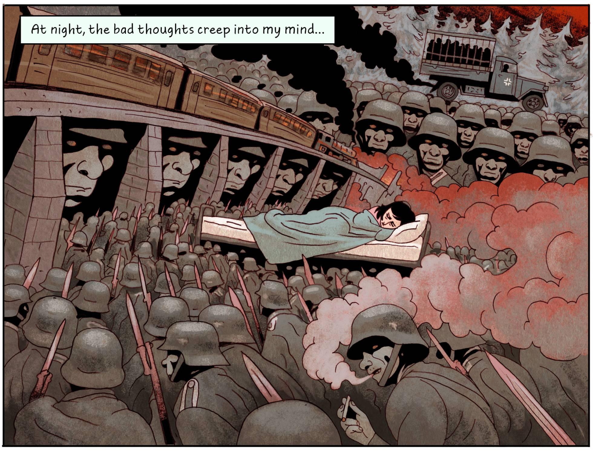 El diario de Ana Frank en cómic