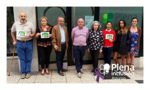 Minuto de silencio Plena inclusión Asturias
