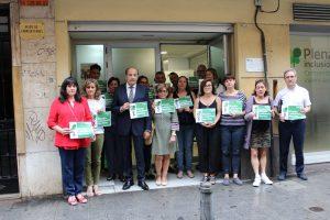 Minuto de silencio Plena inclusión Comunidad Valenciana