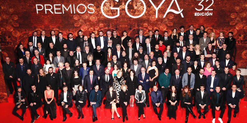 Recepción a las personas nominadas en los Goyas 2018