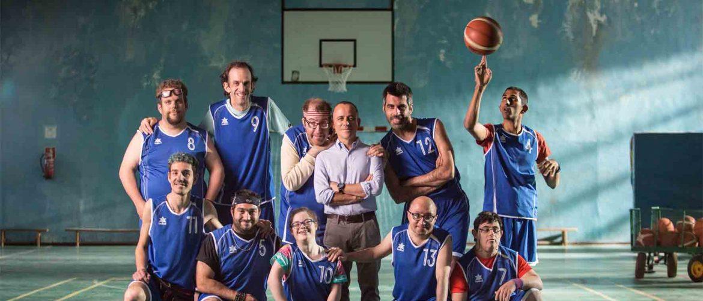 equipo de baloncesto de la película Campeones
