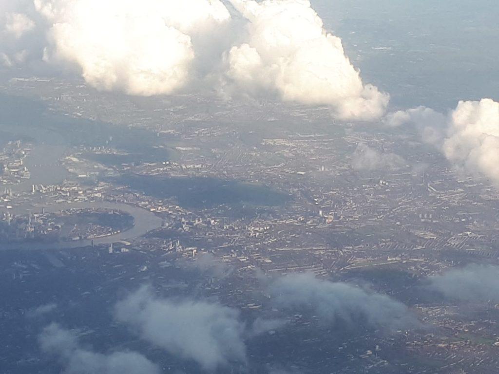 Foto desde el avión