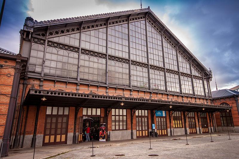 museo ferrocarril madrid fachada