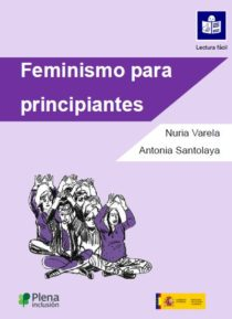 portada feminismo para principiantes lectura fácil mujeres hacen gesto feminista