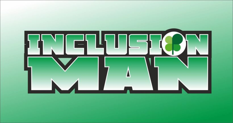 inclusion man logo