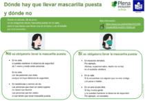 portada Plena inclusión La Rioja. Mascarillas