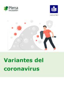 portada Plena inclusión variantes coronavirus lectura fácil